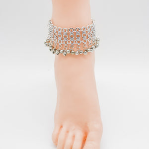 Hollow bells anklet Retro folk style Foot Chain