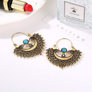 Boho Alloy Hollow Out Vintage Boho Earrings