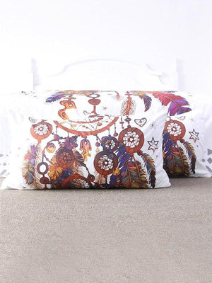 Vivid Pattern Bohemia Printed Twain Pillow Case