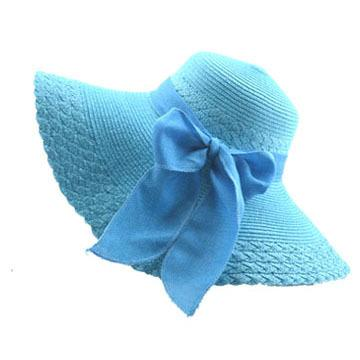 Beach Bow Classic Solid Color Casual Hat