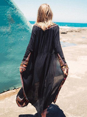 Fashion Embroidered Bohemia Boho Kimonos