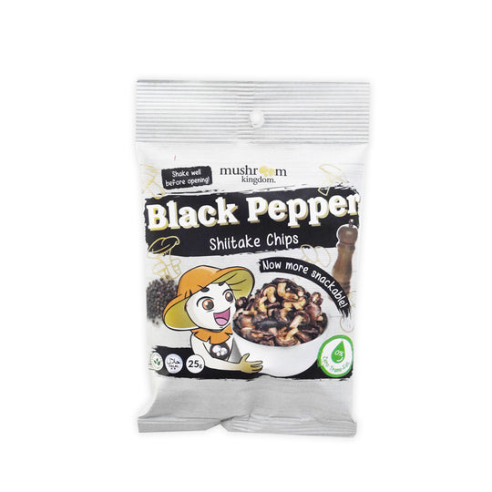 Black Pepper Shiitake Chips (25g)