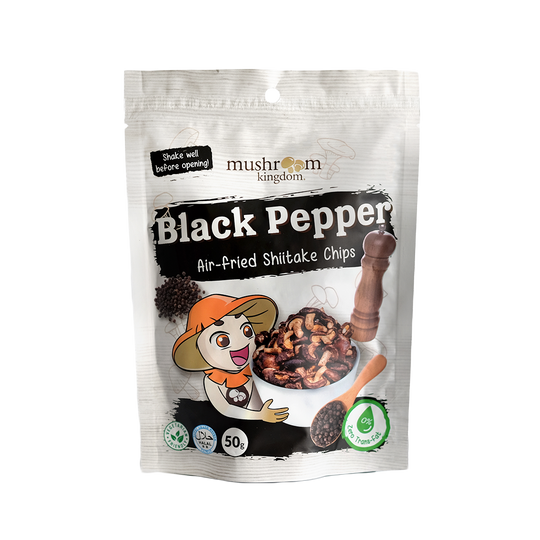 Black Pepper Shiitake Chips (50g)
