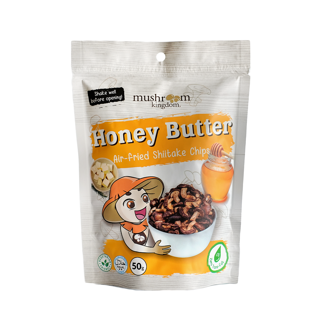 Honey Butter Shiitake Chips (50g)