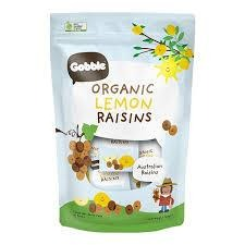 Organic Lemon Raisins (12g x 10 packs)
