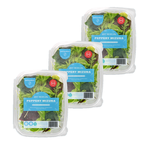 Just Mesclun - Peppery Mizuna Bundle (100g x 3)