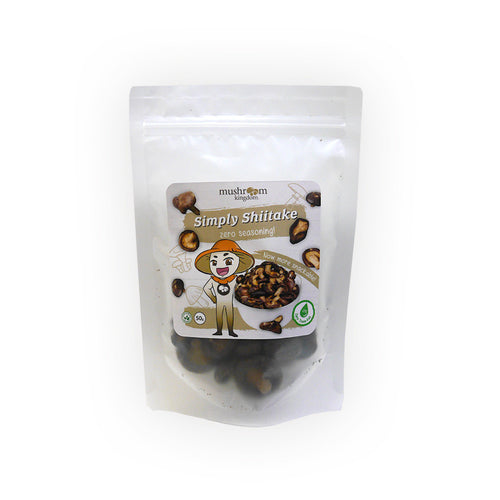 Simply Shiitake Chips - ZERO Seasoning (50g)