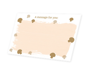 Mushroom Kingdom Message Card