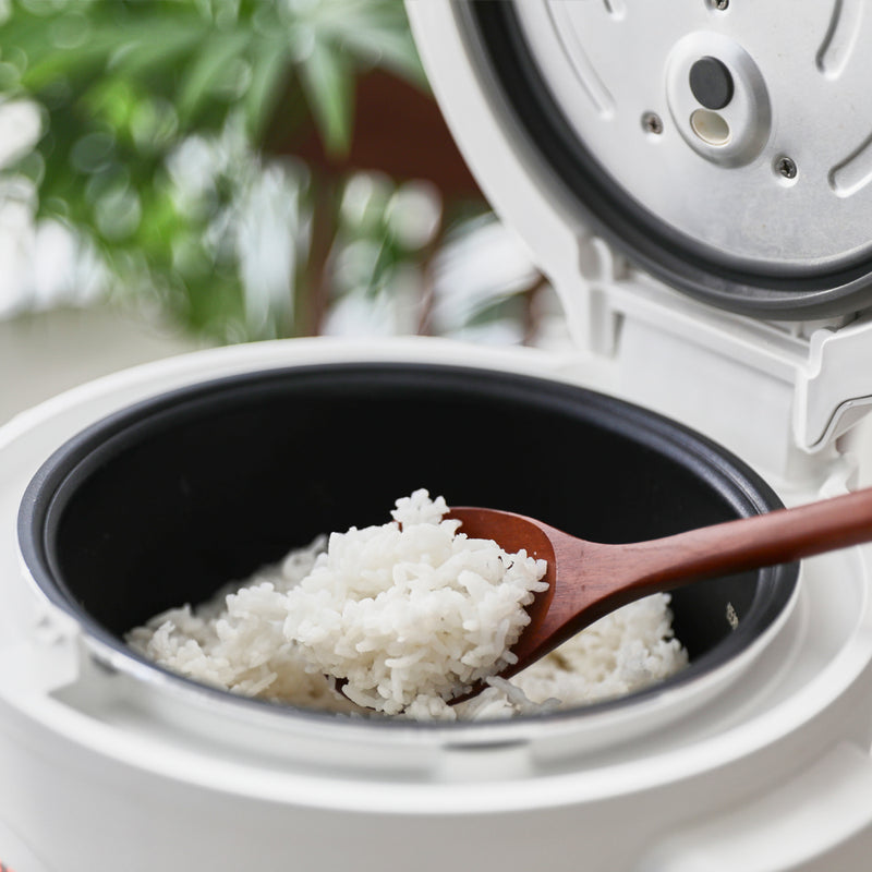 Low Starch Rice removes up to 37% of starch by weight and replaces with water (shorter grain like japanese rice means higher starch reduced, longer grain like jasmine rice or basmati means less starch reduced)