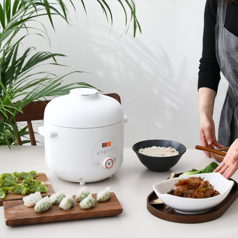 It is the most convenient multi functional rice cooker that keeps you healthy