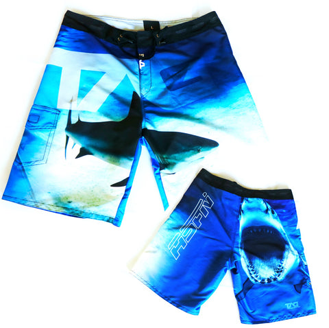 ASFN Sport Fishing Board Shorts - Zambezi Blue
