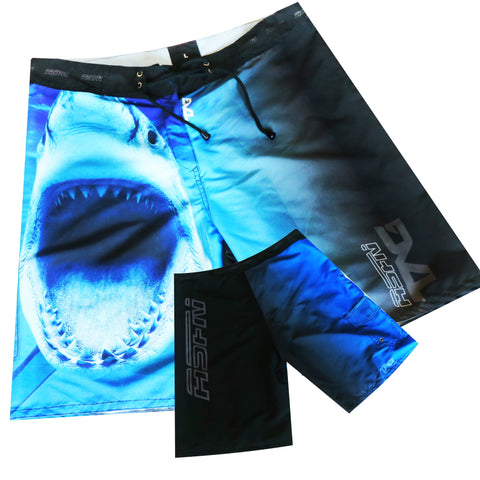 ASFN Sport Fishing Board Shorts - Bite Me