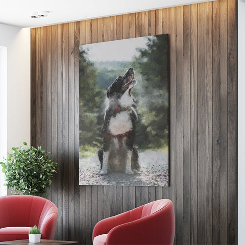 MY PACK FAMILY - CUSTOM CANVAS K9 Dog Lovers