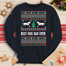 Load image into Gallery viewer, Best Dog Dad Ever - Dachshund (Long Sleeve T-Shirt)