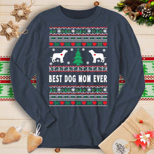 Load image into Gallery viewer, Best Dog Mom Ever - Labrador (Long Sleeve T-Shirt)