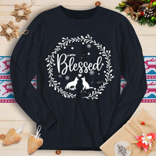 Load image into Gallery viewer, Blessed - GSD (Long Sleeve T-Shirt)