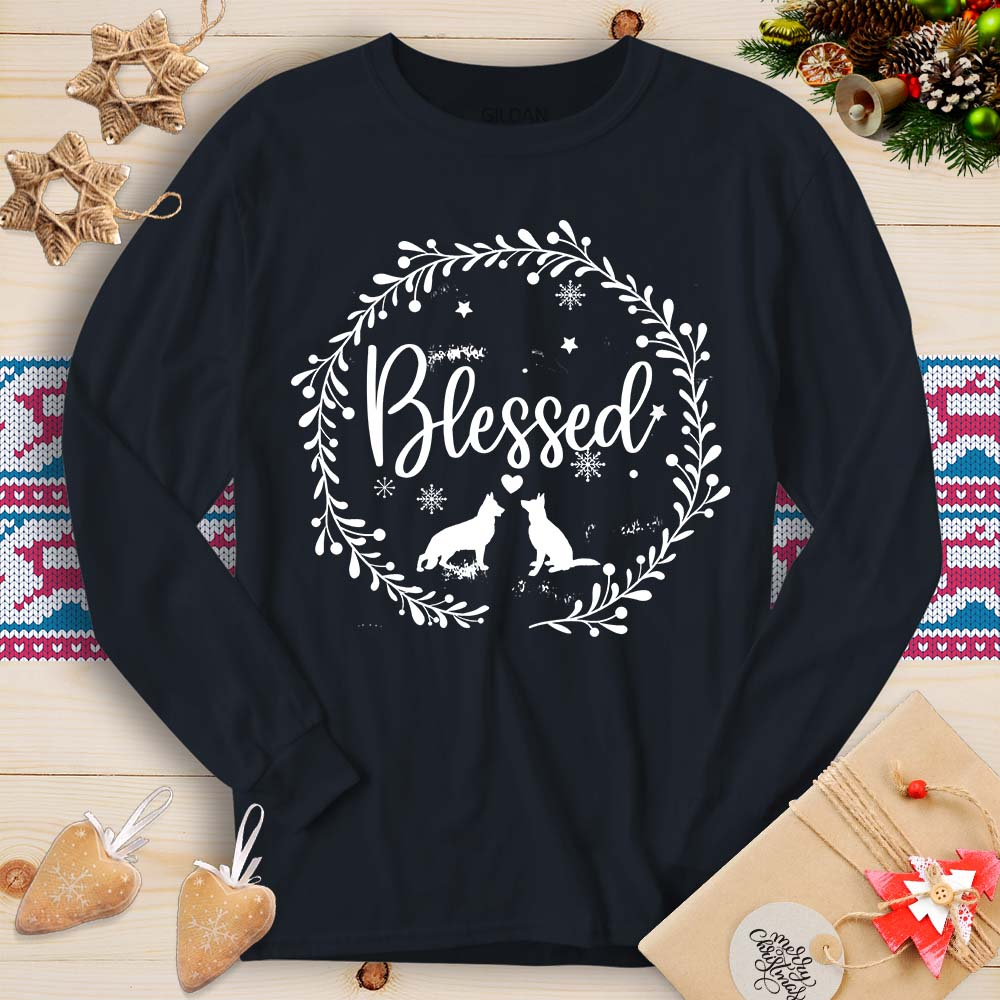 Blessed - GSD (Long Sleeve T-Shirt)