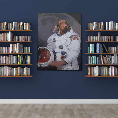 Image of CUSTOM PET ASTRONAUT PORTRAIT