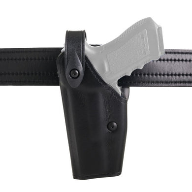 6280 Duty Holster for Glock 17 - Left Hand, Black, STX Tactical