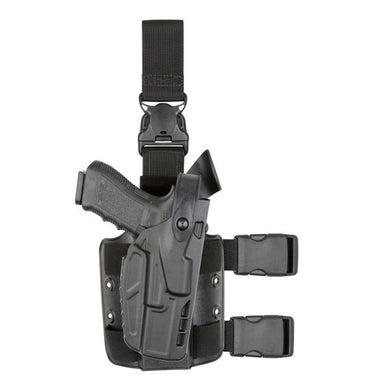 7305 Tactical Holster with Quick Release for Glock 17 - Right Hand, Black, 7TS