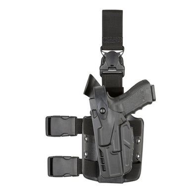 7305 Tactical Holster with Quick Release for Glock 17 - Left Hand, Black, 7TS