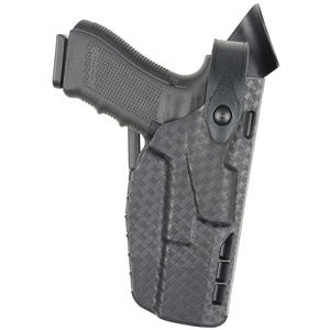 7360 Duty Holster for Glock 19 - Right Hand, Black, 7TS Finish