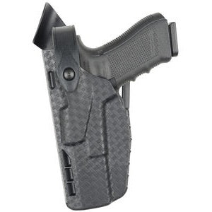 7360 Duty Holster for Glock 17 - Left Hand, Black, 7TS Finish