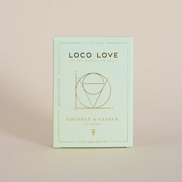 Loco Love Coconut Cashew - Twin Pack