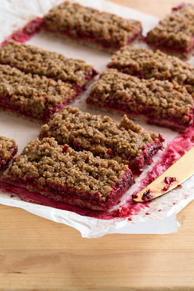 Raspberry Chia Bar