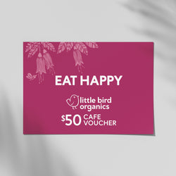 $50 Little Bird Kitchen Gift Vouchers