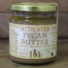 Vigour & Vitality Activated Pecan Butter