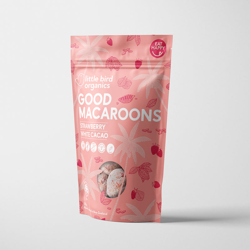 Good Macaroons - Strawberry + White Cacao