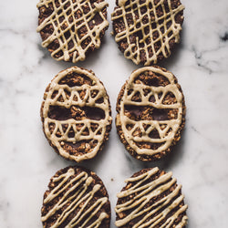 Double Choc + Salted Caramel Cookies - 6 pack