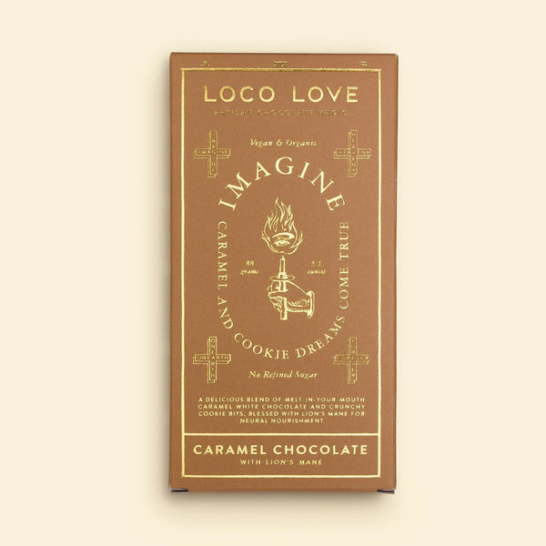 Loco Love - Caramel White Chocolate Block - Imagine