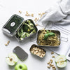 Ever Eco Stackable Bento - 2 tiers + mini container