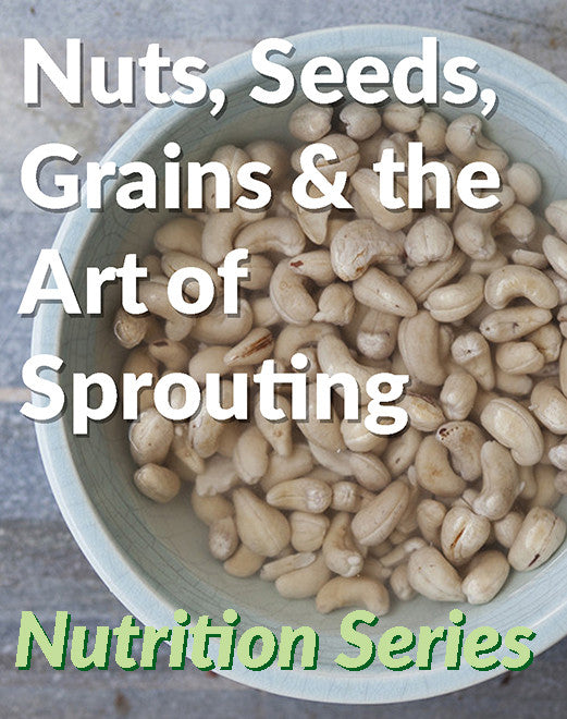 Nuts, seeds, grains and the art of Sprouting - 17 March
