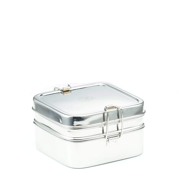Double Layer Square Lunchbox