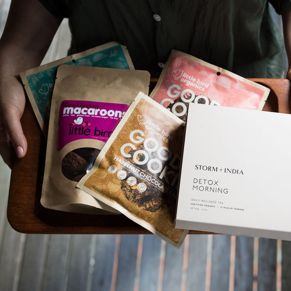 Organic Teabags + Cookies and Macaroons Bundle