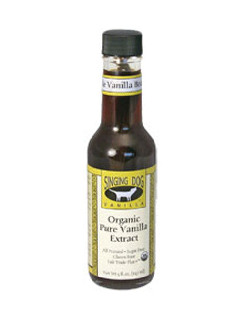 Organic Vanilla Extract 147ml