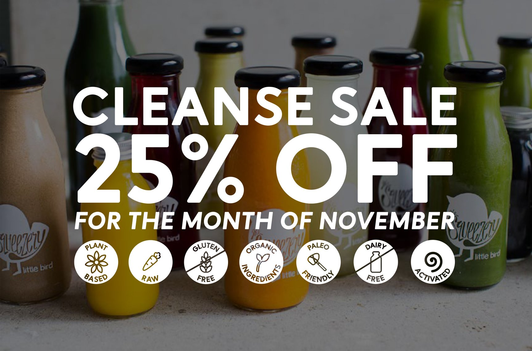 Little Bird Juice Cleanse 25% Off