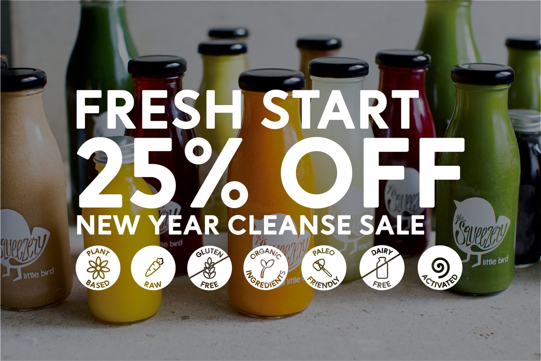 Fresh Start Juice Cleanse Sale