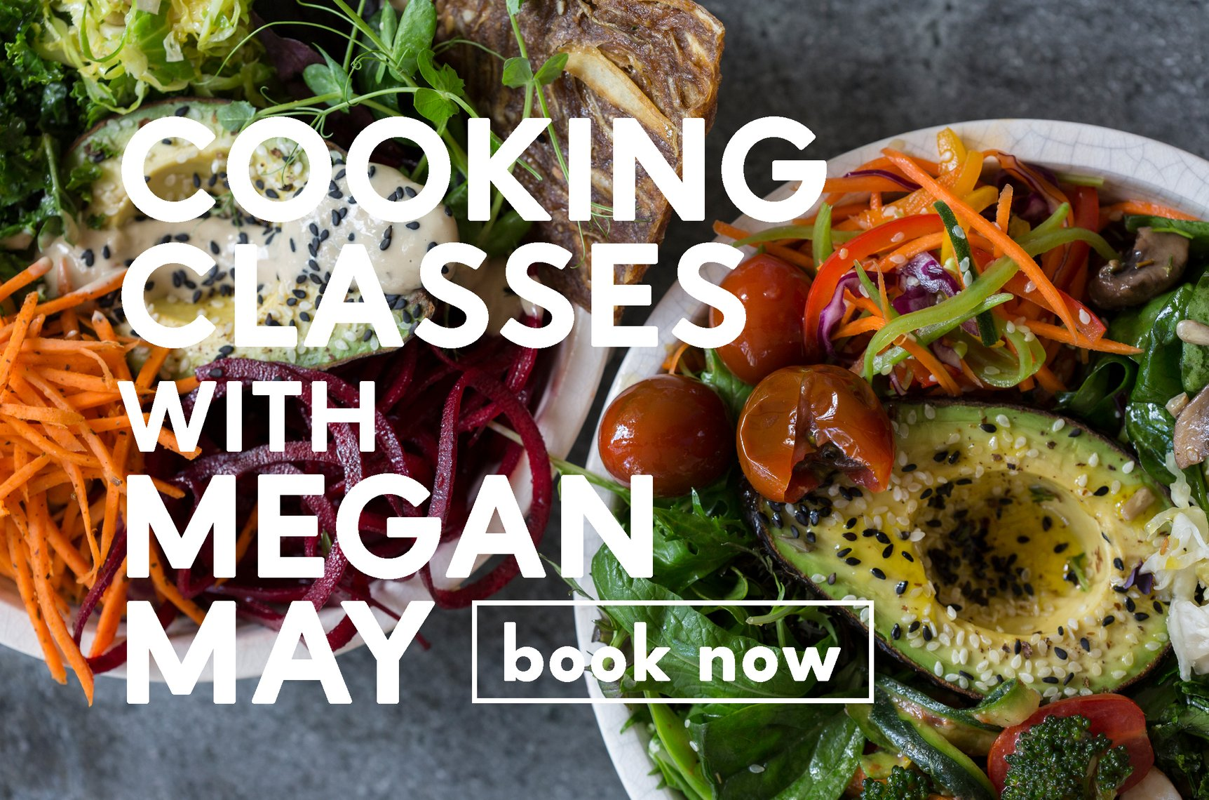 Megan May's Cooking Classes