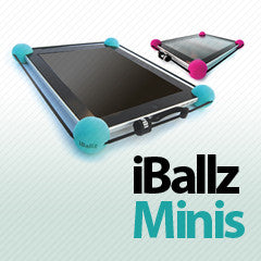"iBallz Mini shock absorber for iPad Mini, Nexus 7, Kindle Fire and most 7-9"" Android tablets"