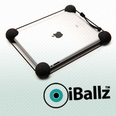 "iBallz Original shock absorber for iPad 1-4, iPad Air, iPad Pro and most 10-13"" Android tablets"