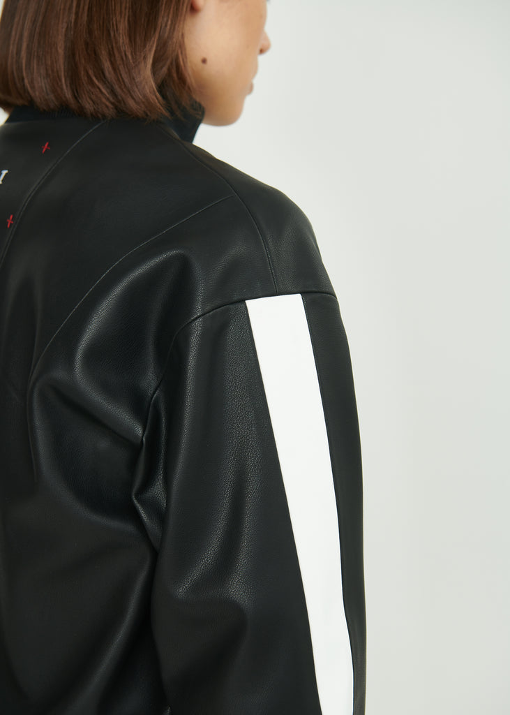 Oversized  Eco Leather Jacket