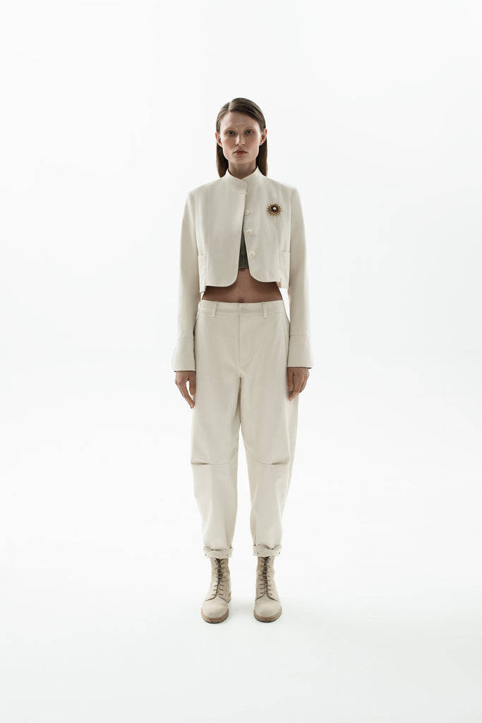 Banana trousers off-white