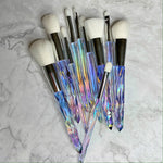 LUXURY ICY CRYSTAL BRUSH SET (10 PCS)