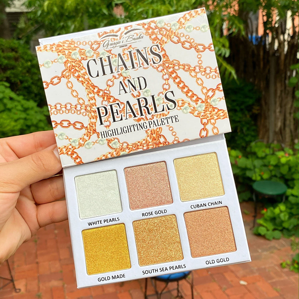 CHAINS AND PEARLS HIGHLIGHTING PALETTE