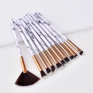 Load image into Gallery viewer, MARBLE BRUSH SET (10 PCS)