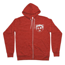 Load image into Gallery viewer, SP Head Logo Unisex Full Zip Hoodie